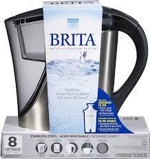 Brita Faucet Filter Replacement Walmart by Brita Stainless Steel Pitcher Walmart Canada