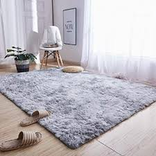 de yueseliaorao teppich seide gefärbt lange haare