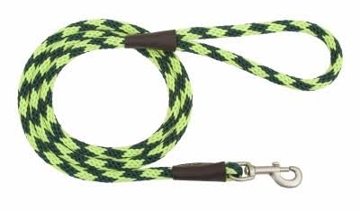 "Mendota Snap Leash - 3/8""x4', Jade"