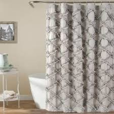 Lush Decor Belle Curtains by Best Ruffle Shower Curtain Products On Wanelo