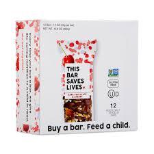 Dark Chocolate Cherry Sea Salt Bars Thrive Market