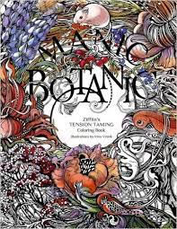 Manic Botanic Zifflins Coloring Book Amazoncouk Zifflin Irina