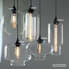clear glass pendant light clear glass pendant ls image of