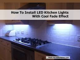 how to install kitchen lighting