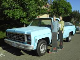 Star Trek Truck (1975 Chevrolet Pickup Used In Star Trek Iv