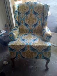 Pottery Barn Napoleon Chair Slipcover by Furniture Beautiful Flower Wingback Chair Slipcover Design