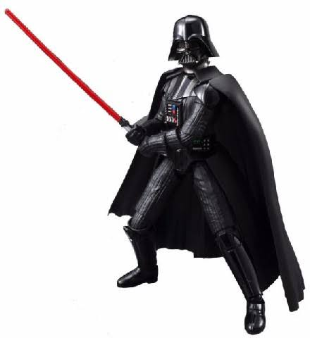 Bandai Star Wars Darth Vader Model Kit - 1:12 Scale