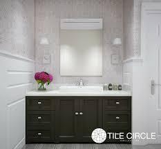 grey tiles lead the way tile circle