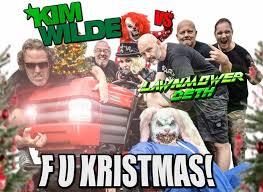 Kim Wilde Rockin Around The Christmas Tree by Kim Wilde And Thrash Band Lawnmower Deth Release Anti Christmas