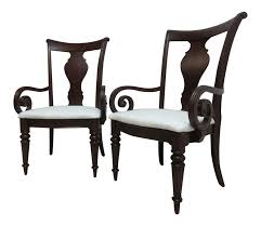 100 Regency House Furniture Pennsylvania Cherry Cortland Manor Dining Chairs A