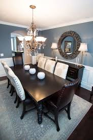 Love Blue Dining Rooms Sherwin Williams Foggy Day Is A Nice Muted Shade
