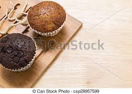 Brechen Tee Hintergrund Cupcake