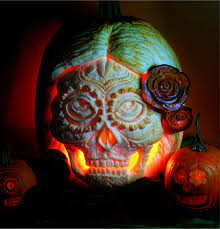 Sugar Skull Pumpkin Carving Patterns by These Pumpkin Carving Designs Will Leave You In Awe