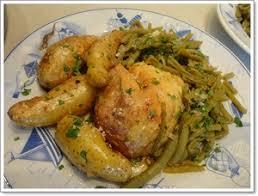 cuisiner poulet au four poulet au four et rattes aux épices recette iterroir