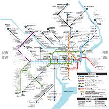 SEPTA able Regional Rail & Rail Transit Map