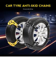 Dropshipping For 8pcs Universal Winter Car Tire Anti-skid Snow ...