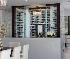 New American Home by Phil Kean Elevate Wine Storage System