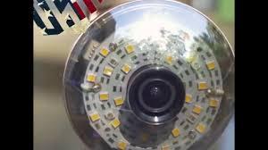 led light bulb security