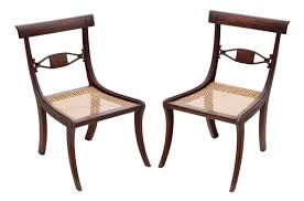 Pair Of Georgian Mahogany Cane Dining Chairs - 7225 ... Bentwood Thonet Style Rocker Rocking Chair Cane Seat Canechairstythivingroomcokelley Co Lovecup Classic Wingback L256 4 Piece White Wicker Cane Couch With Arm Chairs Rectangle Table Chairs A Recent Obsession Of Mine Kristin Dion Design Hancock And Moore Living Room Back Han8347 Walter E Smithe Fniture Somerset Han1347 Ding Chairs For Every Decor Anne Sage Fort Mill Armchair Rattan Set Sofas