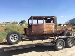 1929 Ford Crew Cab Project