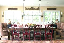 Chair Pads With Ruffles Dining Room