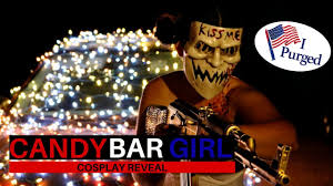 Halloween Club Purge Mask by Purge Candy Bar Cosplay Reveal Youtube