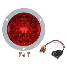 Truck-Lite® 44022R - Red Round Super 44 Stop/Turn/Tail Light Kit, 42 LED 2x Led Rear Tail Lights Truck Trailer Camper Caravan Bus Lorry Van 0708 Dodge Ram Pickup Euro Red Clear 111 Round And W Builtin Reflector 4 Inch Led Whosale 2018 8 Car Light Warning Rear Lamps Waterproof Amazonca Trucklite 44022r Super 44 Stopturntail Kit 42 2 Pcs With License Plate Lamp Durable Lights Ucktrailer Circular Stoptail Lamp 1030v 1 Pair 12v Turn Signal 20fordf150taillight The Fast Lane