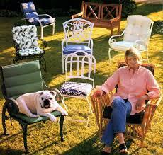 Martha Stewart Victoria Patio Cushions by Martha Moments Remembering Martha Stewart Everyday Garden