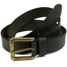 timberland mens leather belt classic distressed brass buckle strap
