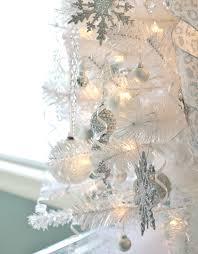 Winter Wonderland White Christmas Tree