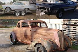 Three HOT ROD–Approved Barn-Find Projects Under $5,000 - Hot Rod ... Barn Finds Buried Tasure Coming In The September 2017 Hot Rod Chevrolet 1952 Chevy Truck Rat Rod Hot Barn Find Project 1961 Corvette Sees Light Of Day After 50 Years Network Patina Doesnt Begin To Describe Finish On This Barnfind 1932 The Builds Tishredding Performance A 1972 Bearcat Beater 1918 Stutz Httpbnfindscombearcat 1948 Convertible Woody Find Three Rodapproved Projects Under 5000 Oldschool Rods Built Onecar Garage Mix Of Old And New 1934 Ford 5 Window