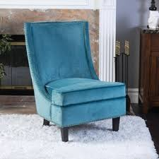 pleasant blue high back chair high back living room chairs