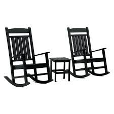 Black Slat Patio Rocking Chair Lowes Outdoor N – Kobogo