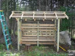 Cheap Shed Roof Ideas by A Birthday Woodshed For Dh Fairhope Farm