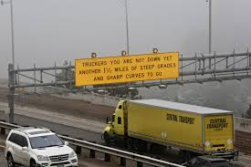 100 Rocky Mountain Truck Driving School CDOT Created Those Infamous Ers Dont Be Fooled Signs