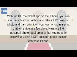 Can I Use My Iphone To Take A Passport