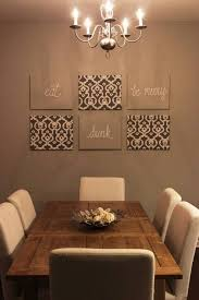 Creative Dining Room Wall Decor