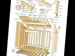 free shed plans 8x12 pdf shed row plans
