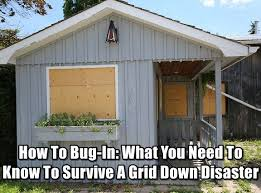 How To Bug In What You Need Know Survive A Grid Down Disaster Doomsday SurvivalDoomsday PreppersApocalypse