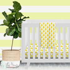 Modern Crib Bedding Sets by Pineapple Modern Baby Crib Bedding