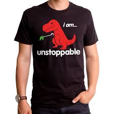 i am unstoppable t rex gt3300 101blk men u0027s t shirt dino