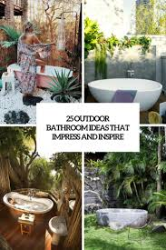 25 Outdoor Bathroom Ideas That Impress And Inspire - DigsDigs Outdoor Bathroom Design Ideas8 Roomy Decorative 23 Garage Enclosure Ideas Home 34 Amazing And Inspiring The Restaurant 25 That Impress And Inspire Digs Bamboo Flooring Unique Best Grey 75 My Inspiration Rustic Pool Designs Hunting Lodge Indoor Themed Diy Wonderful Doors Tent For Rental 55 Beautiful Designbump Ide Deco Wc Inspir Decoration Moderne Beau New 35 Your Plus