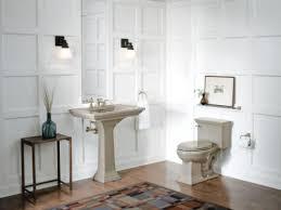 Tiling A Bathroom Floor by A Wooden Floor In A Bathroom Diy