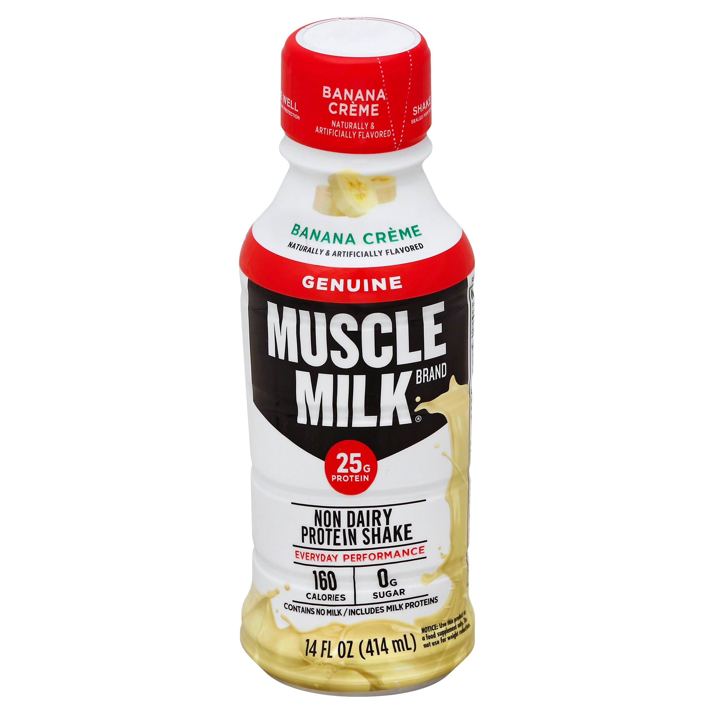 Muscle Milk - banana creme, 14oz