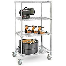 Mobile Shelving Carts Media