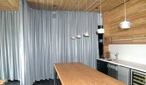 ceiling mounted privacy curtains room dividers flexible ceiling