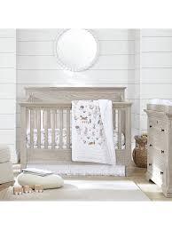 Pottery Barn Kids Romona Cotton Quilt, White