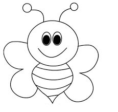 Bee Coloring Pages For Preschool