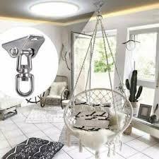 details zu 360 drehen hook deckenbefestigung hängematte haken hängesessel schaukel montage