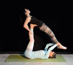 Want To Get More Out Of Your Yoga Practice Grab A Friend Huffpost